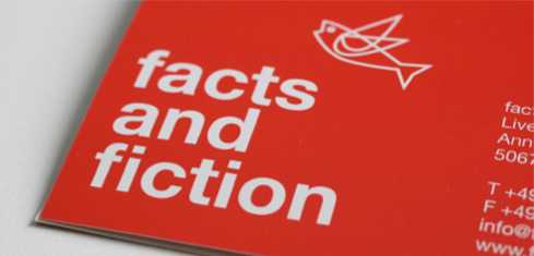 Foto des Logos von Facts & Fiction