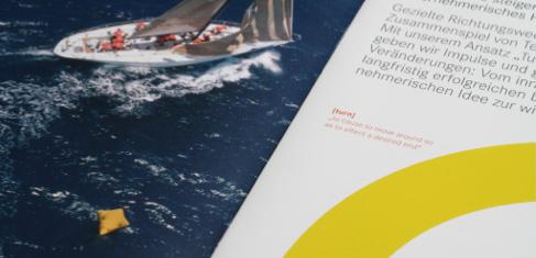 Foto einer Broschuere von Professor Möller & Co