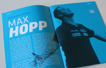 World Darts Gala Programmheft